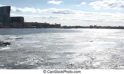 Ice drifts
