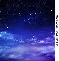 beautiful background, nightly sky - deep space, abstract...