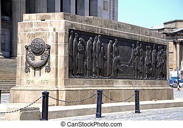 The Liverpool Cenotaph. - The Liverpool Cenotaph Great War...
