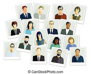 Personen Bilder.eps - people images