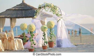 Wedding On A Beach