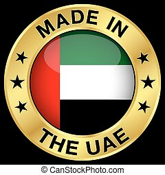 United Arab Emirates Gold Badge