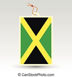 jamaican price tag - vector simple jamaican price tag -...