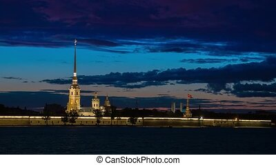 Peter and Paul Fortress, Saint Petersburg.Russia.