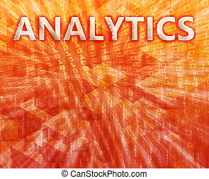 Analytics illustration - Analytics Business intellegence...