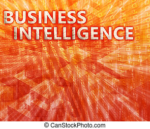 Business Intelligence illustration - Business intellegence...