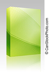 Abstract wallpaper box package - Software package box...