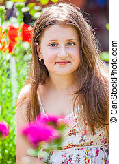 Portrait of 10 year old girl - Portrait of a 10 year old...