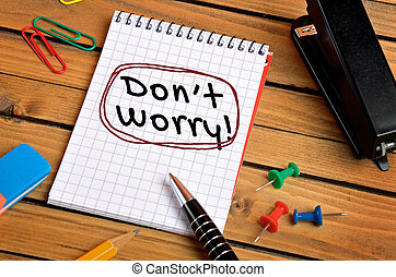 Dont worry word on notepad