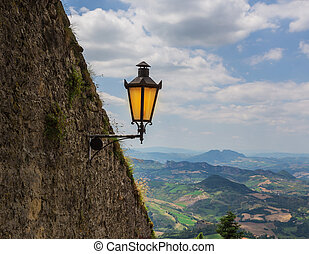 The Guaita fortress is the oldest and the most famous tower on San Marino.