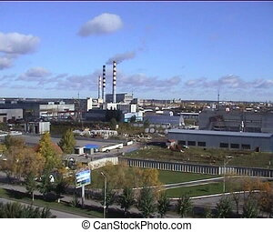 Combined heat and power factory. Tyumen. Russia