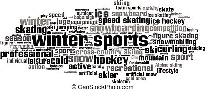Winter sports1-horizon Convertedeps - Winter sports word...
