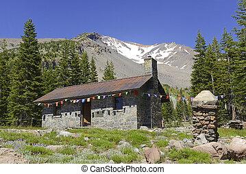 Cabin on Mount Shasta, California