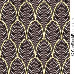 Art Nouveau - Seamless Art Nouveau pattern
