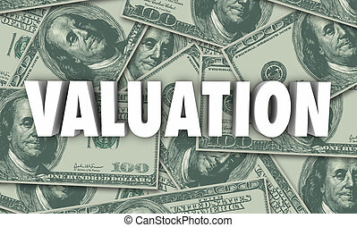 Valuation Money Background Company Business Worth -...