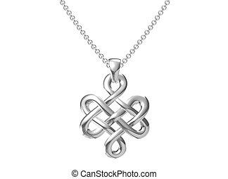 pendant on white background. - pendant on white background.