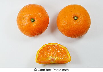 orange in bad mood - orange in bad mood