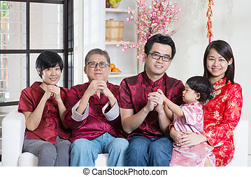 Chinese New Year blessing - Celebrating Chinese new year....