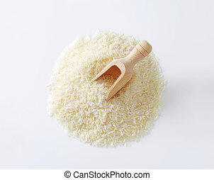 Thai jasmine rice - Heap of Thai jasmine rice
