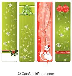 cristmas banners - christmas banners set