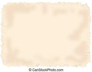 Antique parchment paper texture.