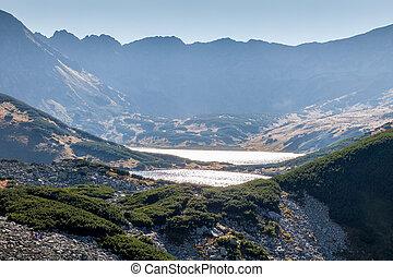 Dolina Pieciu Stawow in Tatras - Dolina Pieciu Stawow in...