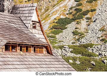 Shelter in the Tatra Mountains - Shelter in Valley of 5...