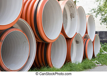 Industrial sewer pipes