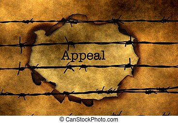 Appeal  text against barbwire