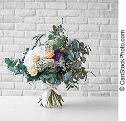 花束, 明亮, 婚禮