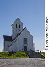 Skalholt Cathedral in Iceland, June 2015