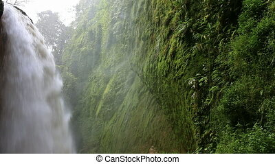 Blawan Waterfall near Bondowoso town East Java Indonesia