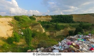 Environmental Pollution, Piles of Garbage. - Environmental...