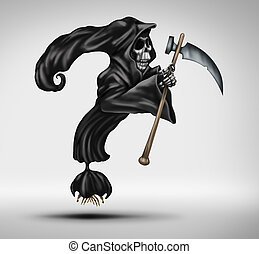 Mortality Question - Mortality question as a grim reaper or...