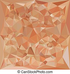Fawn Brown Abstract Low Polygon Background - Low polygon...