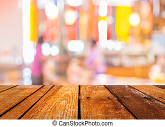 food store blur with bokeh - image of food store blur with...
