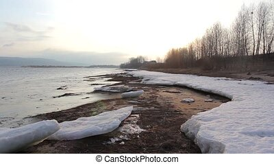 Ice on the Beatch River Motion HD