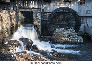 Jenneys Grist Mil - Historic Jenneys Grist Mill in Plymouth,...