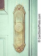 Vintage door knob - vintage filter