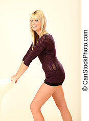 Beautiful Young Woman - Beautiful Young Female Model in...