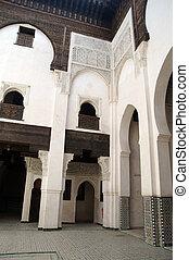 Madrassa in Fez - Bou Inania Madrassa in Fez, Morocco