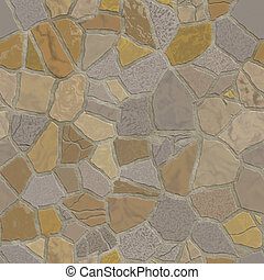 Broken mosaic background texture - Broken stone mosaic...