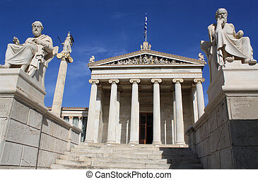 Academy of Athens, Greece. - Neoclassical Academy of Athens...
