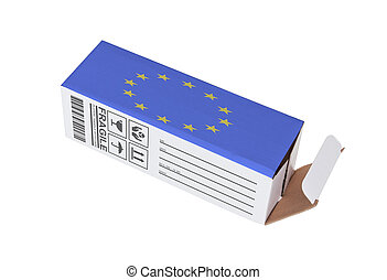 Concept of export - Product of the European Union - Concept...