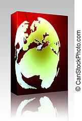 Globe Europe Africa box package