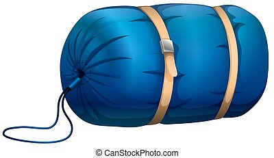 Clip Art Sleeping Bag Clipart sleeping bag clipart and stock illustrations 709 blue with leather strapped