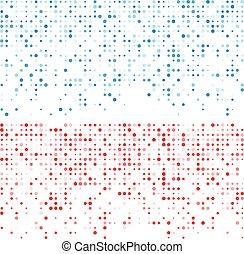 Circles technology pattern banners. - Technology pattern...