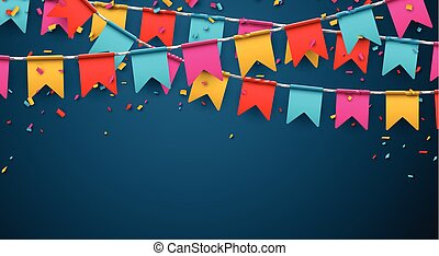 Party celebration background. - Celebrate banner. Party...