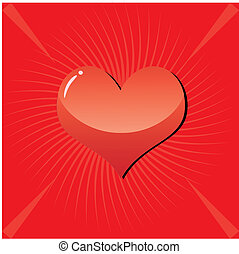 Valentine Background 3 - valentine background with heart on...