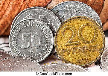 Pfennig Deutsche Mark Bundesrepubik Deutschland, frontside...
